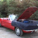 red-mustang-wtih-fender-cover